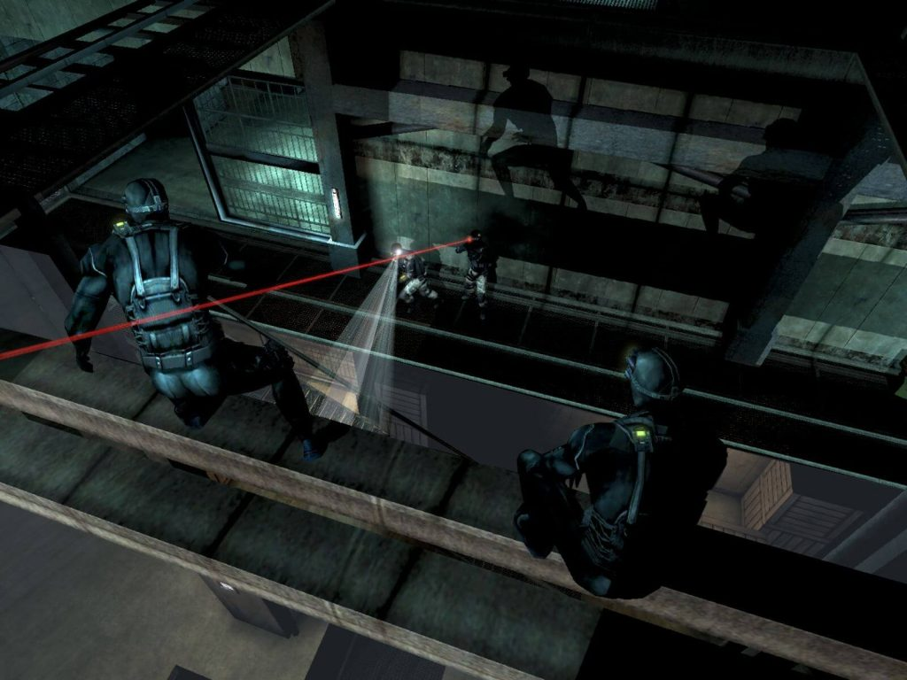 Шпионы против наемников - Splinter Cell: Chaos Theory