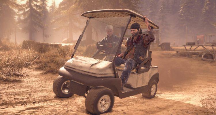 Новое обновление в Days Gone позволит водить гольф-кар