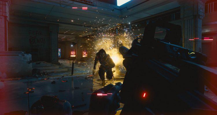 Новые скриншоты Cyberpunk 2077 – с машинами и боевыми навыками