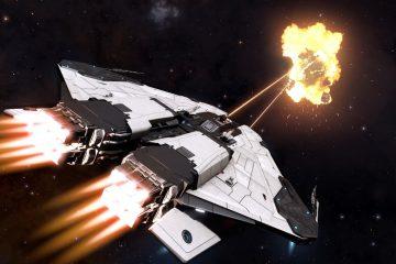 Подробности о космических авианосцах в Elite: Dangerous
