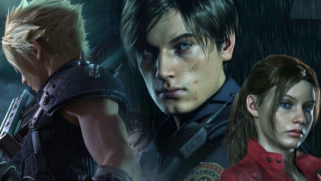 Клауд Страйф из Final Fantasy 7 на замену Леону из Resident Evil 2 Remake