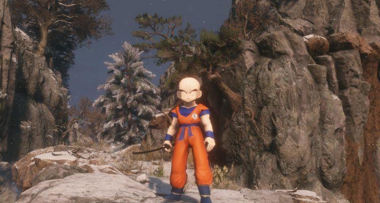 Мод по Dragon Ball Z для Sekiro: Shadows Die Twice позволяет играть за Криллин