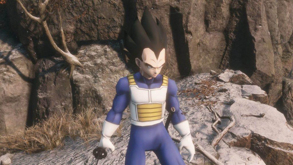 Мод по Dragon Ball Z для Sekiro позволяет вам играть за Вегету