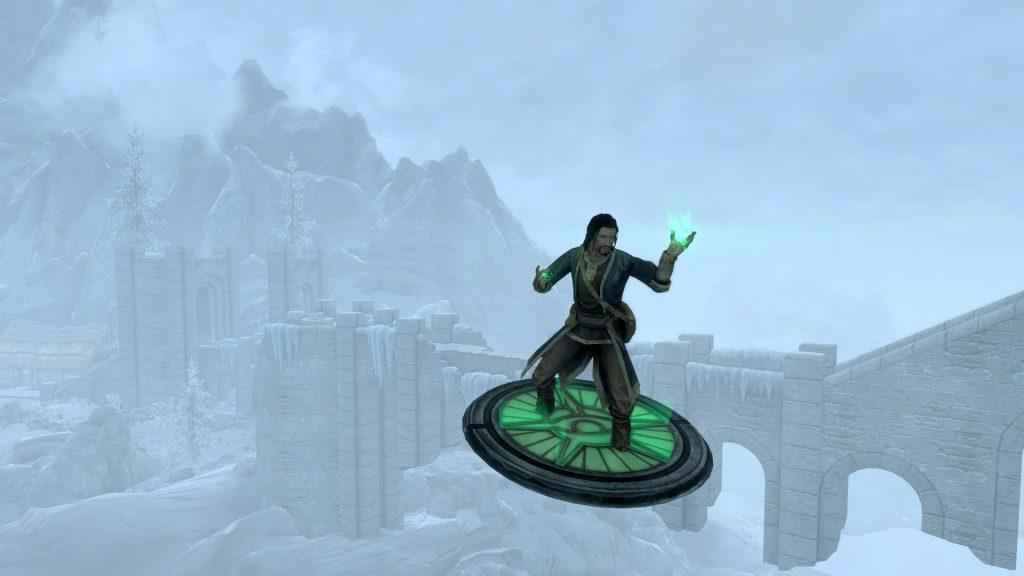 Мод для Skyrim позволят вам летать на волшебном ковре