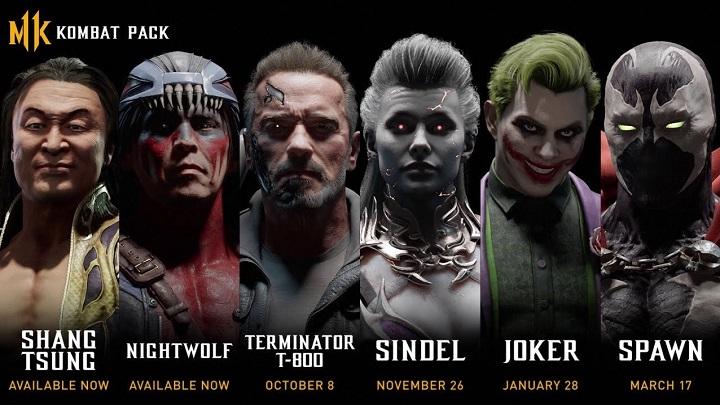 Терминатор и Джокер навестят Mortal Kombat 11