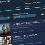 Тестирование интерактивных рекомендаций в Steam прошло успешно