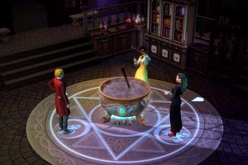 The Sims 4: Land of Magic - новое DLC предложит заклинания и фамильяры