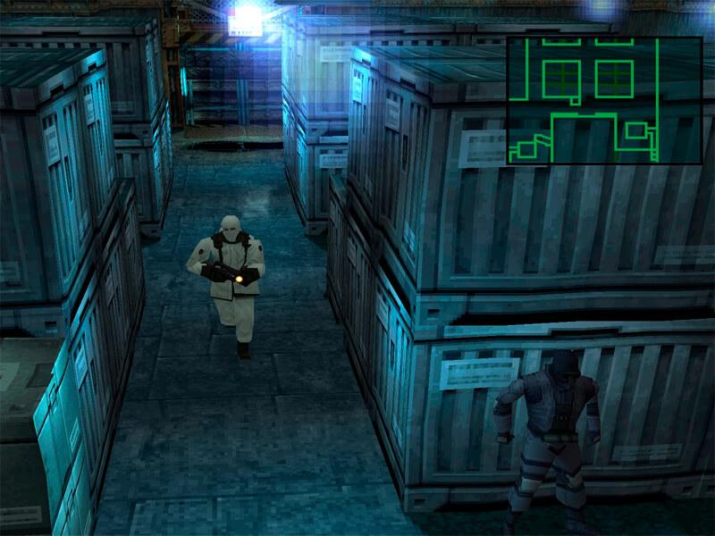 Издевательства над охранниками в Metal Gear Solid