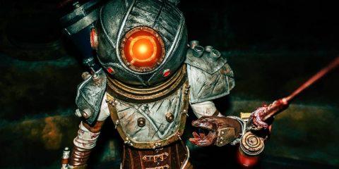Это косплеей, а не скриншоты из Bioshok 2
