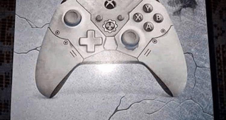 Утечка: Официальный геймпад Gears 5 Xbox One