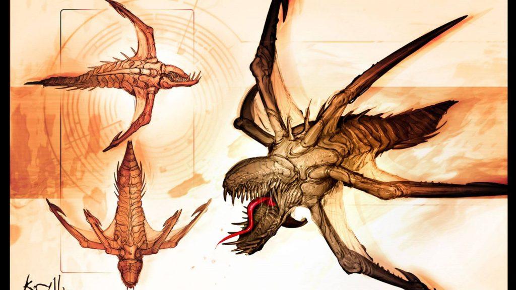 Выживание с криллами – Gears of War