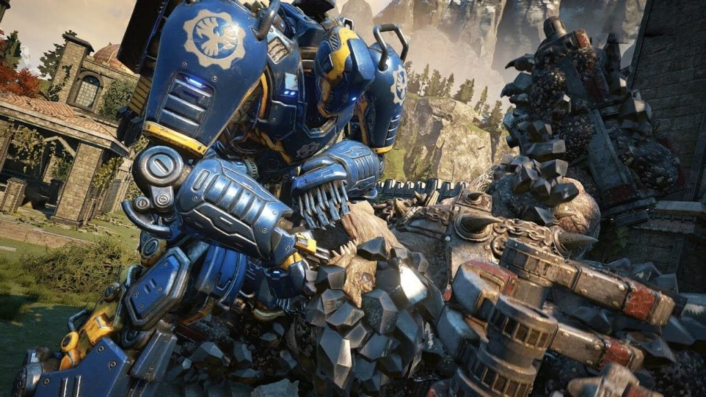 Атака роботов на Улей – Gears of War 4