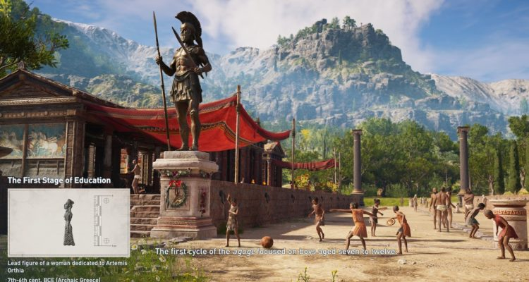 Assassins Creed Odyssey получила режим Discovery Tour