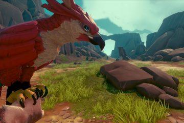 Falcon Age - игра, в которой вы сражаетесь с роботами на пару с птицей