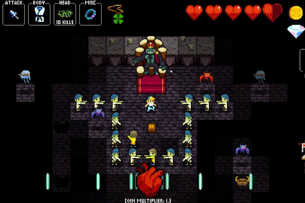 Crypt Of The Necrodancer – Кода