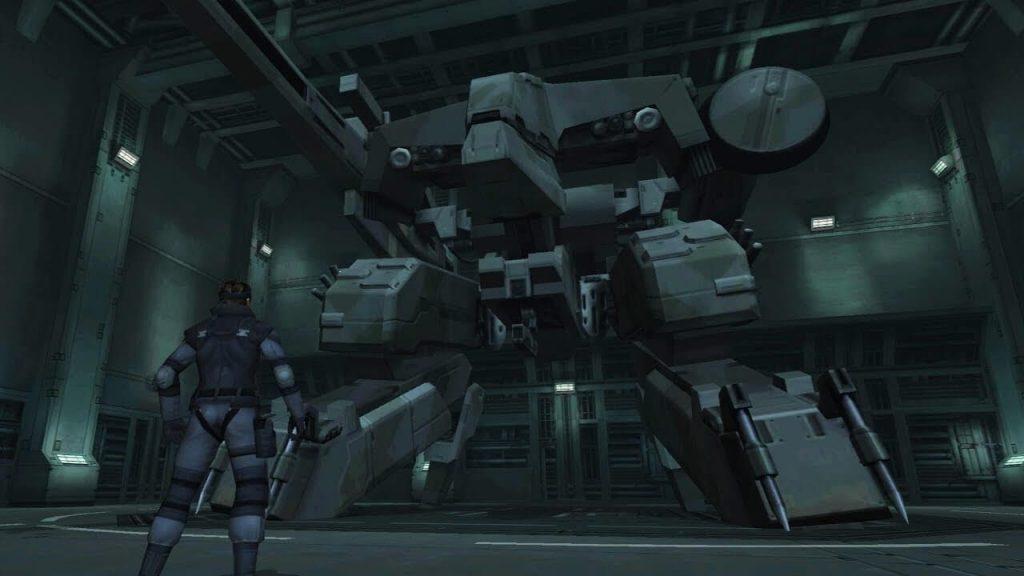 Грей Фокс против Metal Gear Rex – Metal Gear Solid
