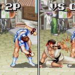 Компьютерные противники в Street Fighter 2