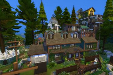 Кто-то построил дом из What Remains Of Edith Finch в The Sims 4, и это невероятно