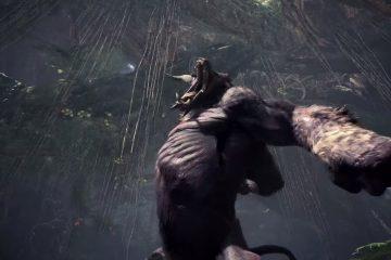 Monster Hunter World: Iceborne представит злого орангутанга по имени Rajang