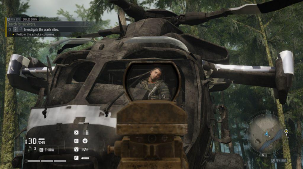 Ошибка в Ghost Recon Breakpoint позволяет устранить главного антагониста в начале игры