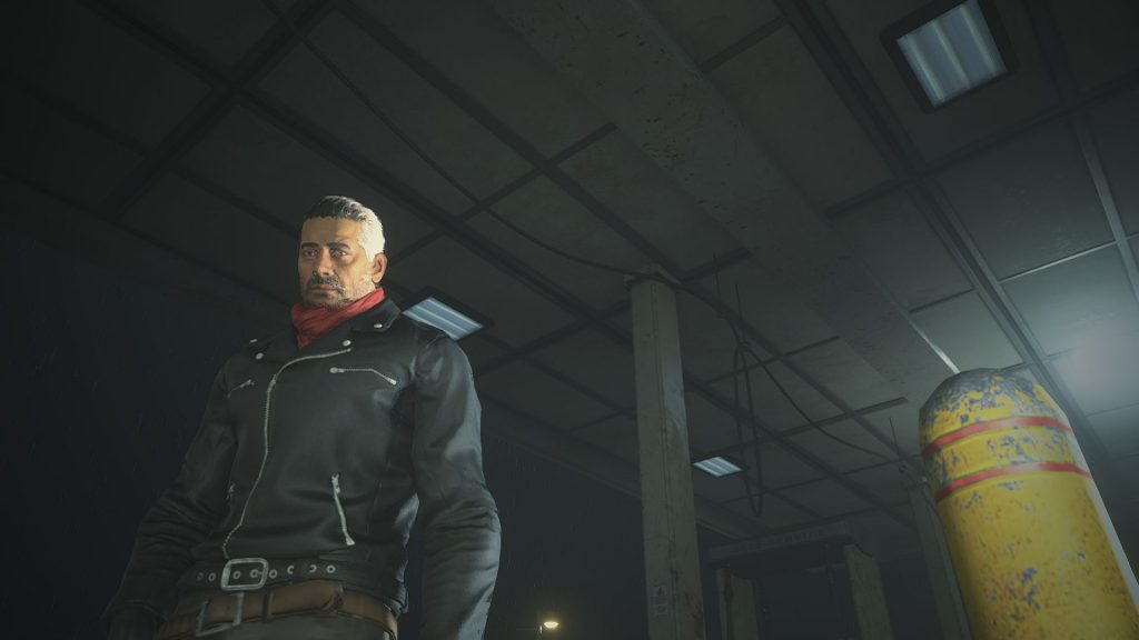 В Resident Evil 2 Remake появилась возможность сыграть за Нигана из Ходячих мертвецов