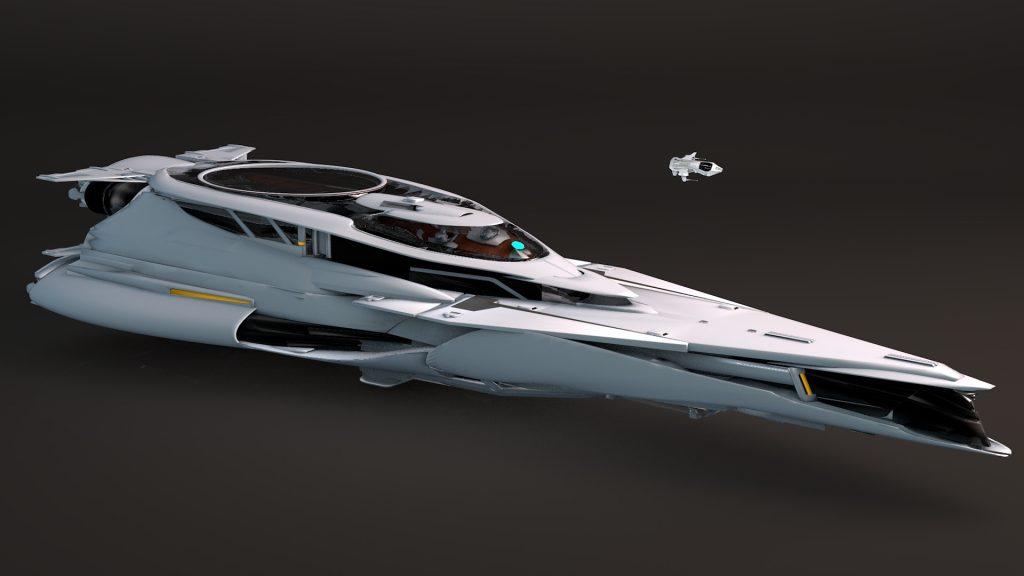 Самый дорогой корабль в Star Citizen был продан сразу после появления в магазине