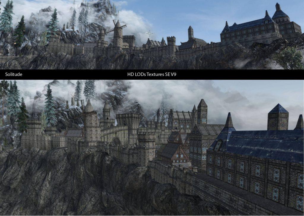 Новые HD LOD текстуры для Skyrim улучшают объекты и окружающую среду