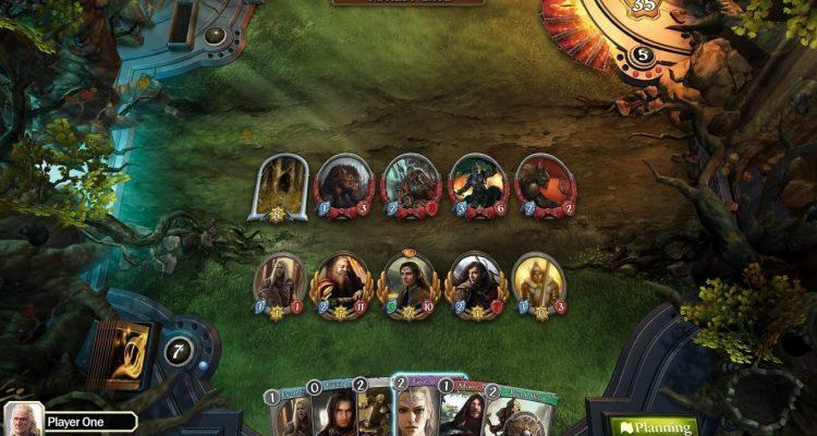 Состоялась премьера The Lord of the Rings: Adventure Card Game