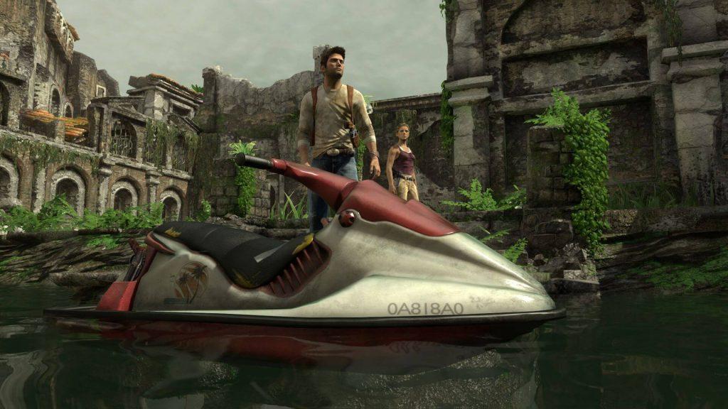 Uncharted: Drake's Fortune – Уровни с гидроциклами