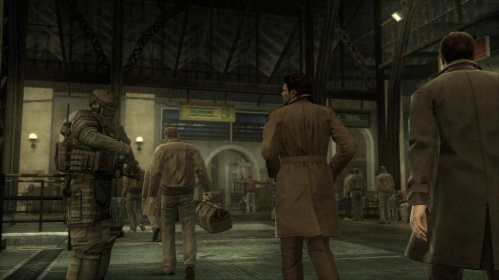 Metal Gear Solid 4 – Слежка за членом сопротивления