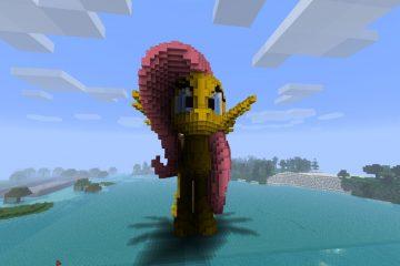 В Minecraft можно будет играть за розового единорога