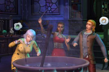 Вышло дополнение Realm of Magic для The Sims 4