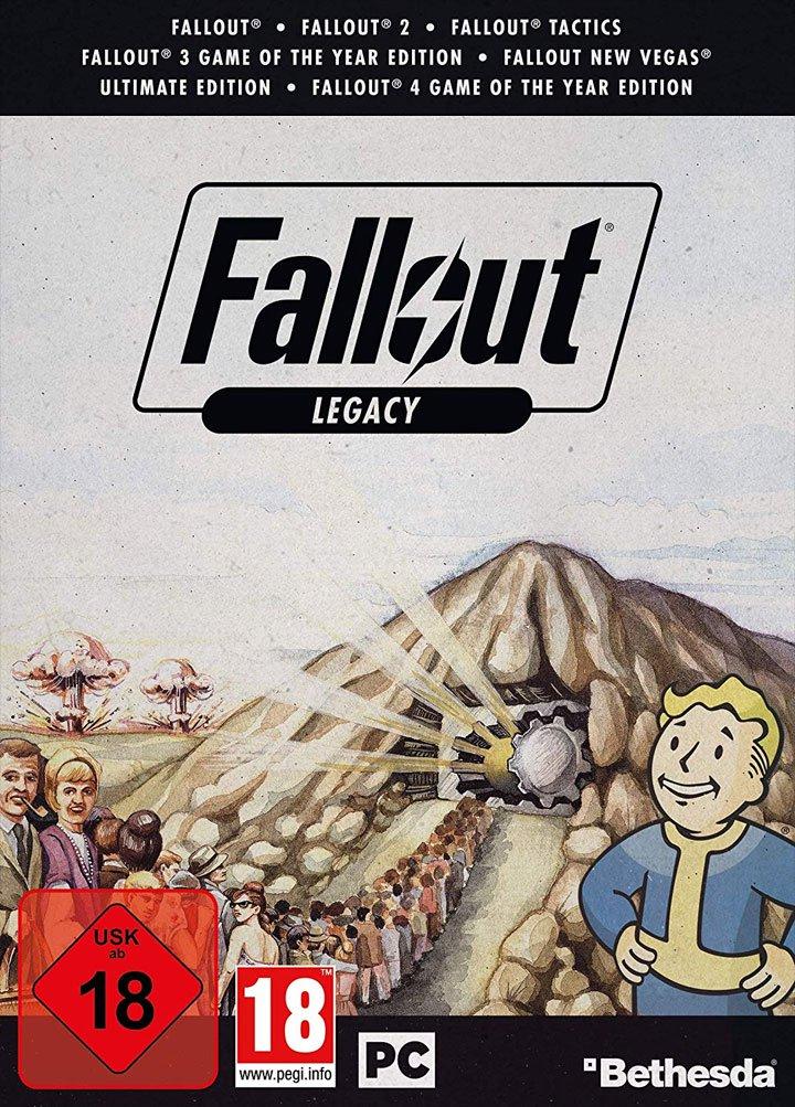 Bethesda готовит коллекционный набор Fallout Legacy