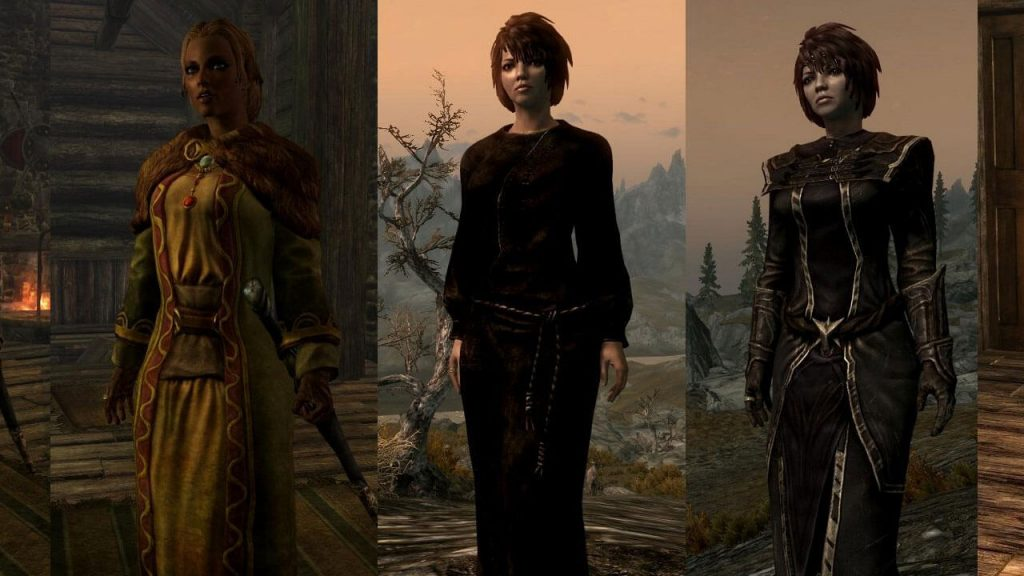 UNP Female Armors