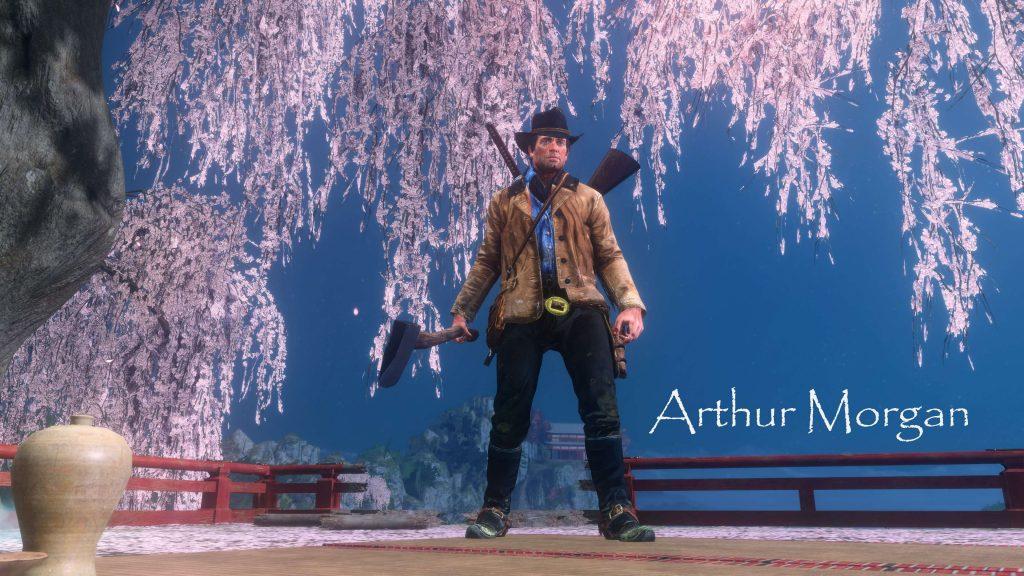 Теперь вы можете играть за Артура Моргана из RDR 2 в Sekiro: Shadows Die Twice