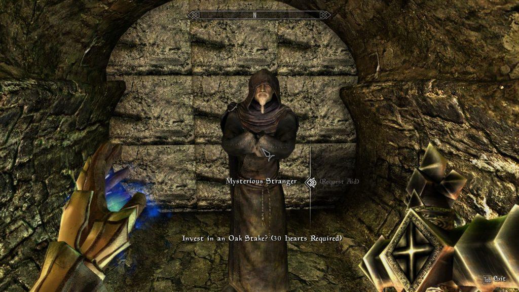 Мод который превращает Skyrim в Castlevania 2