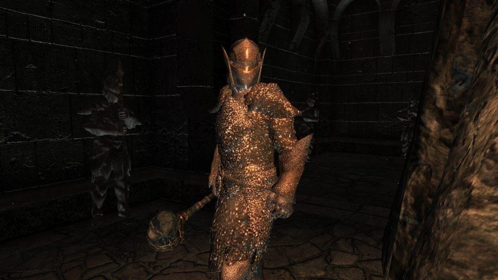 Мод добавляет оружие, подземелья, заклинания и многое другое в Skyrim из вселенной Legend of Zelda