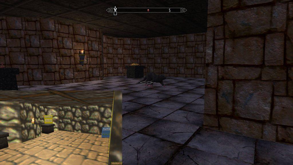 Мод позволяет вам пройти весь основной квест Daggerfall в Skyrim