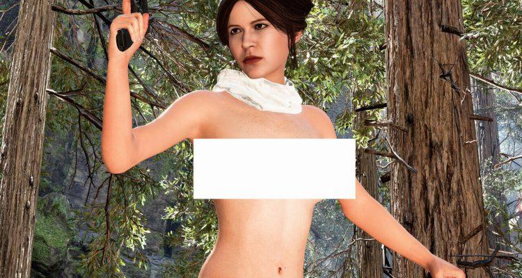 Первый ню-мод для Леи и Рей в Star Wars Battlefront 2