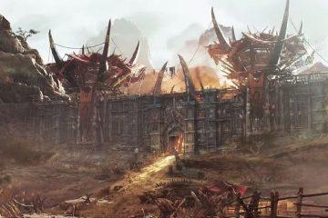 Столица Орды - Оргриммар был воссоздан на Unreal Engine 4