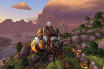 World of Warcraft: добавьте в свою коллекцию огромную ездовую пчелу