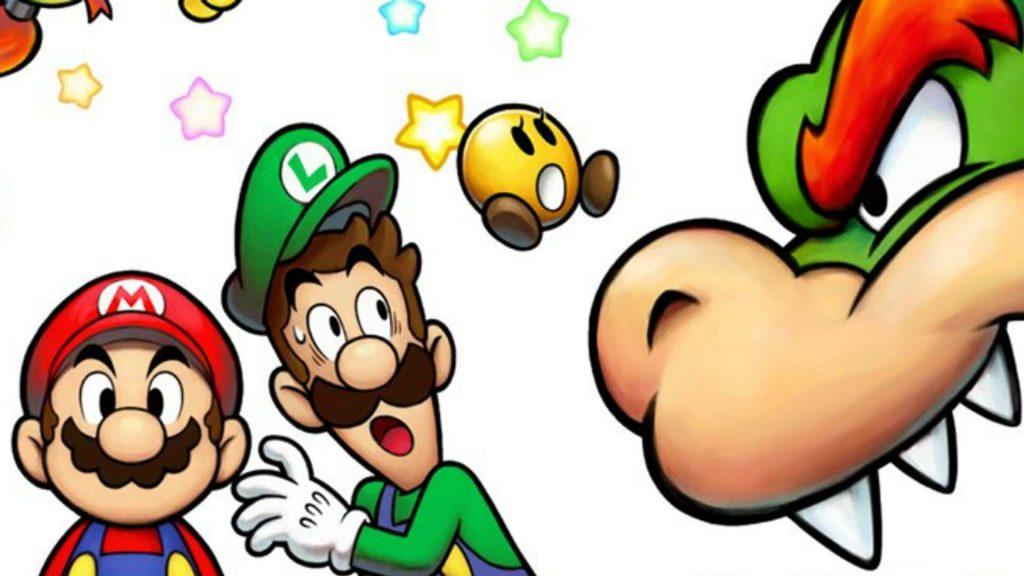 Вся игра (Mario and Luigi: Bowser's Inside Story)
