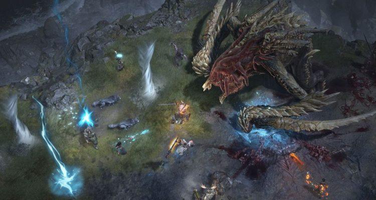 Diablo 4 - игровой процесс, представляющий битву с боссом