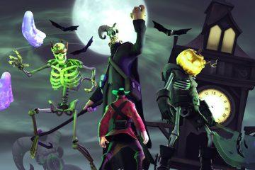 Игровые секреты появляющиеся только на Хеллоуин