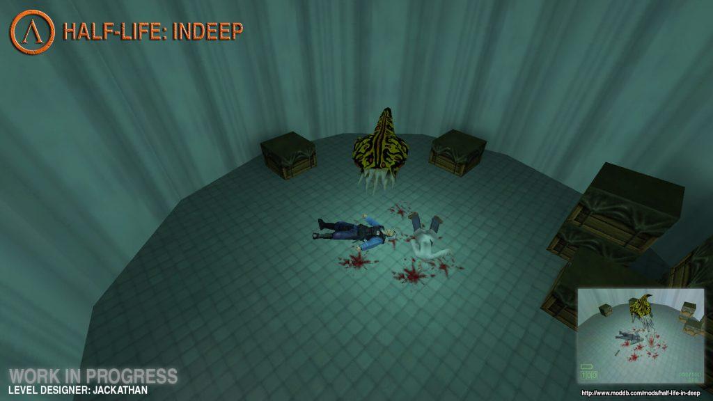 Мод воссоздает альфа-версию Half-Life