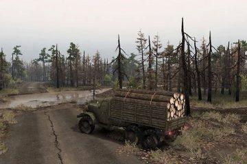 Новое дополнение к Spintires отправит нас в Чернобыль