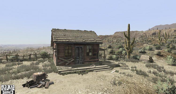 Разработка модификации Red Dead Redemption Damned Enhancement была возобновлена