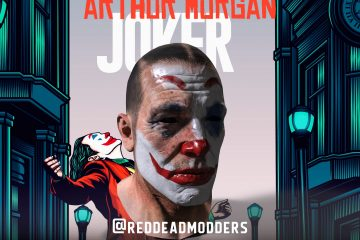 Первый мод для Red Dead Redemption 2 превращает Артура в Джокера