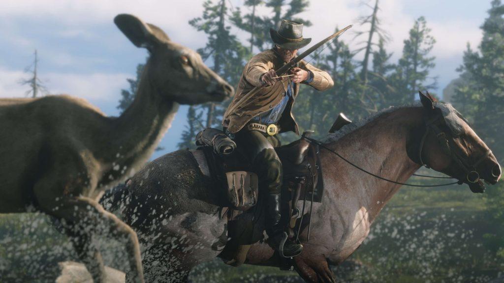 Red Dead Redemption 2 выглядит роскошно, но управление мышью делает её особенной