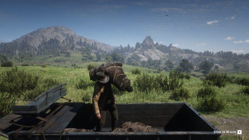 Повозка охотника